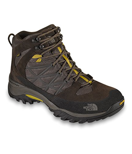 The North Face Men's Storm Mid WP Weimaraner Brown/Antique Moss Green Boot 10 EE – Wide