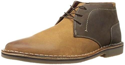 Steve Madden Men's Harsen Chelsea Boot, Tan/Multi, 10 M US