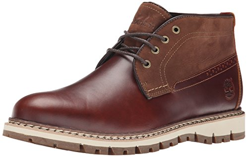 Timberland Men's Britton Hill Clean Chukka WP Winter Boot, Chestnut Quartz Buttersoft, 9 M US
