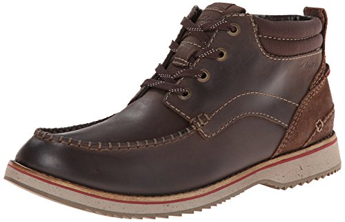 Clarks Men's Mahale Mid Chukka Boot,Brown,11.5 M US