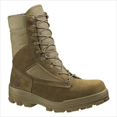 Men's Bates DuraShocks USMC Hot Weather Boot Tan, TAN, 11M