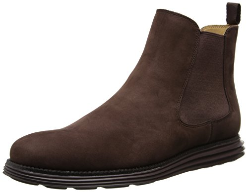 Cole Haan Men's Lunargrand CH Chelsea Boot,T.Moro/Brown,10.5 M US
