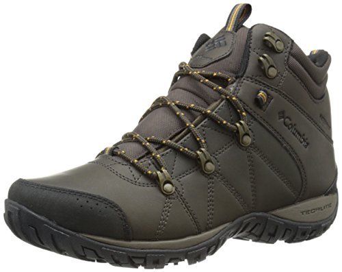 Columbia Men's Peakfreak Venture Mid OH Trail Shoe, Cordovan/Caramel, 13 D US