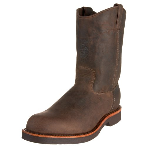 Chippewa Men's 10″ Rugged Handcrafted Pull-On Boot