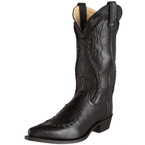 Dan Post Men's Phoenix Western Boot,Black,11EW US
