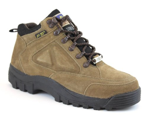 AdTec Men's 1836 Hiker 6″ Steel Toe,Brown,US 7.5 W