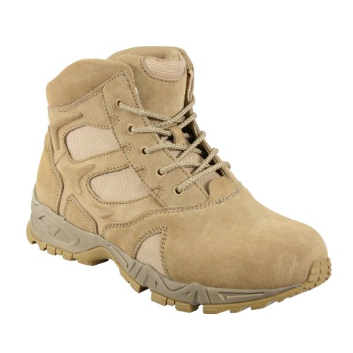 Rothco 6″ Desert Tan Forced Entry Deployment Boot, 13R