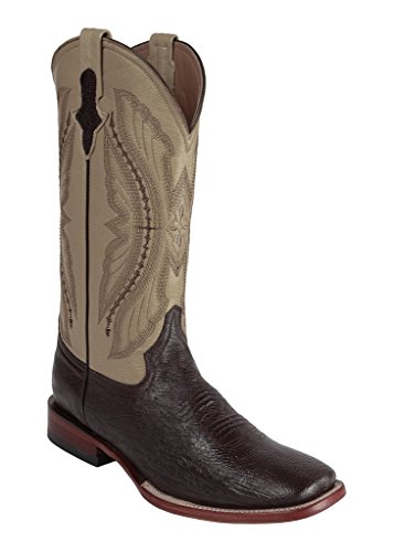Ferrini Mens Smooth Ostrich Sq Boots 10.5EE Nico