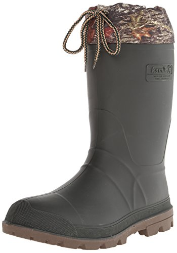 Kamik Men's Icebreaker Insulated Winter Boot, Camo, 10 M US