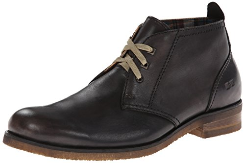 Bed Stu Men's Draco Chukka Boot,Black,8.5 M US