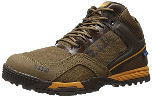 5.11 Men's Range Master Waterproof Tactical Boot, Dark Coyote, 7 D(M) US