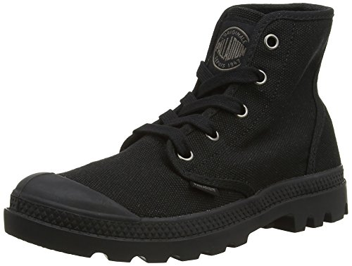 Palladium Women's Pampa Hi Canvas Boot,Black,7 M US