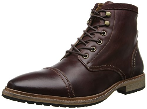 Florsheim Men's Indie Cap Toe Boot Chukka Boot, Chocolate Smooth, 9.5 D US
