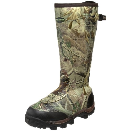 Irish Setter Men's RutMaster WP 1200 Gram 17″ Rubber Boot,Realtree AP Camouflage,11.5 E US