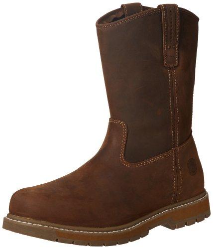 MuckBoots Men's Wellie Classic Work Boot,Brown,12 M US