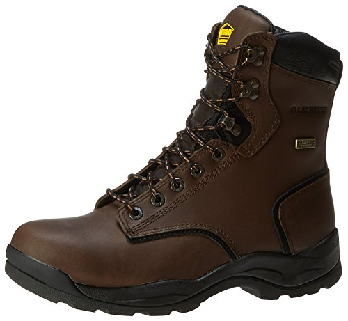 LaCrosse Men's Quad Comfort 8 Inch ST Work Boot,Dark Brown,11.5 M US