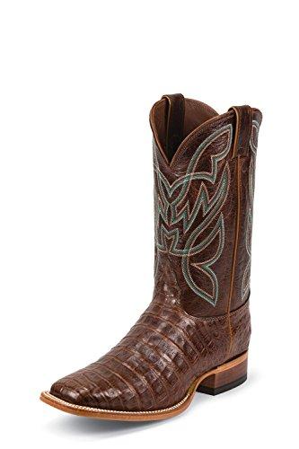 Nocona MD8604 Mens Cognac Caiman Boots,Cognac,8.5D