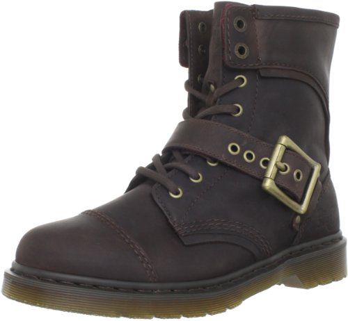 Dr. Martens Men's Triumph 1460 Boot,Dark Brown,10 UK (11 M US Men's)