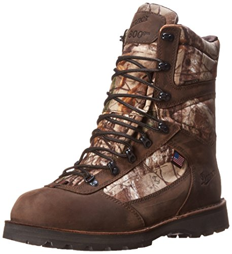 Danner Men's East Ridge 8 Realtree Extra 800G Hiking Boot,Brown/Green,11 EE US