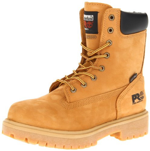 Timberland PRO Men's Wheat 26011 Direct Attach 8″ Soft-Toe Boot,Yellow,11 W