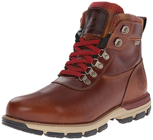 Timberland Men's Heston Mid With Gore-Tex Winter Boot, Brown, 8.5 M US
