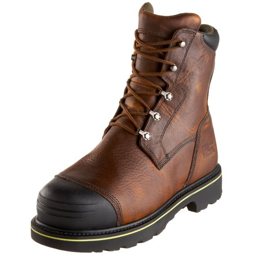 Timberland PRO Men's 99524 Warrick 10″ Smelter Boot,Brown/Brown,7.5 M