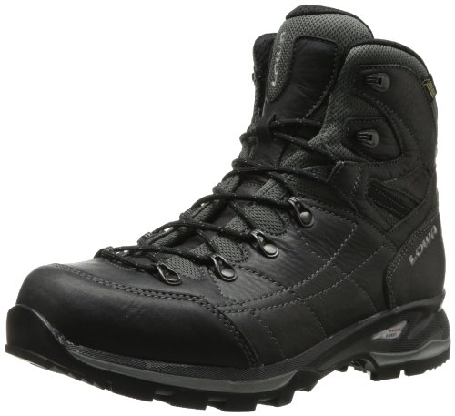 Lowa Men's Hudson Goretex Mid Hiking Boot,Anthracite,9.5 M US