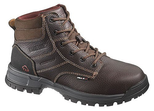 Men's Wolverine® Joliet Waterproof 6″ Work Boot (11 EW in Black)