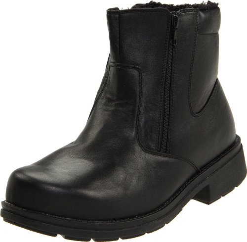Propet Men's Reggie Boot,Black,9.5 3E US