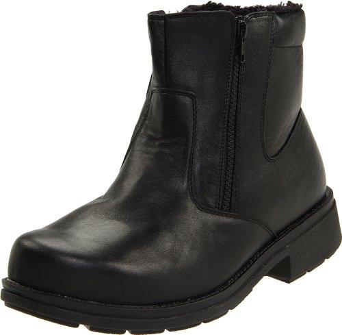 Propet Men's Reggie Boot,Black,9.5 3E US