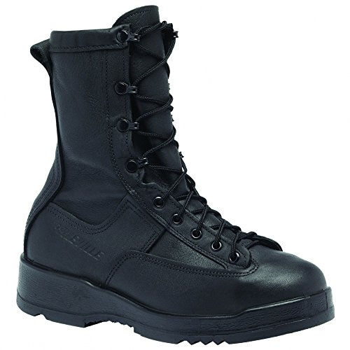 Belleville 880ST Men's 8-in WP ST EH Tactical Boot Black 13 M US