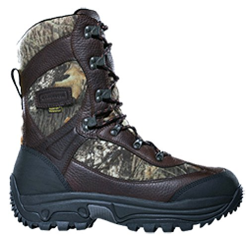 "LaCrosse Hunt Pac Extreme 10"" Boot 2000gm Leather 10 BrkUp"