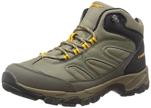 Hi-Tec Men's Moreno Hiking Boot, Smokey Brown/Taupe/Gold, 9 M US