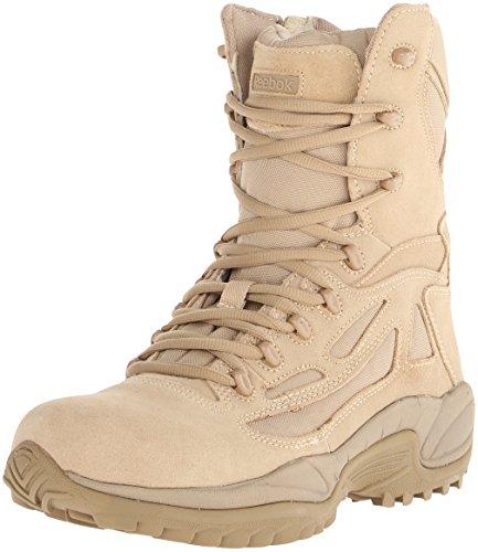 Reebok Men's Rapid Response RB8895 Security Friendly ,100% Non metallic  Boot,Desert Tan,9 M US