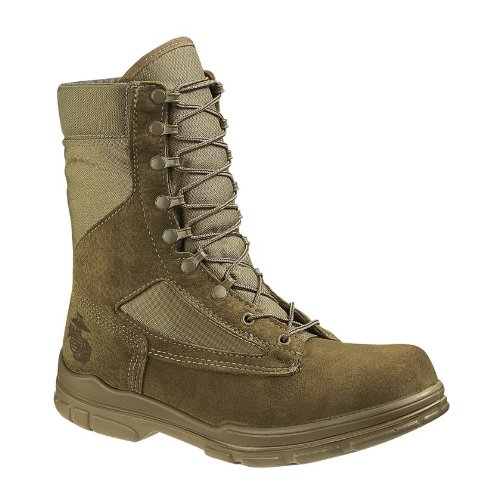 Men's Bates DuraShocks U.S.M.C.-spec. Boots Tan, TAN, 11