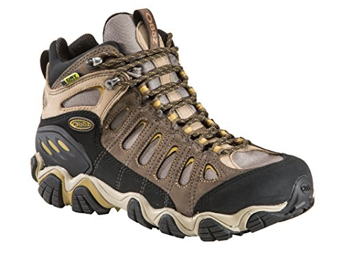 Oboz Men's Sawtooth Mid BDRY Hiking Boot,Olive,8.5 M US