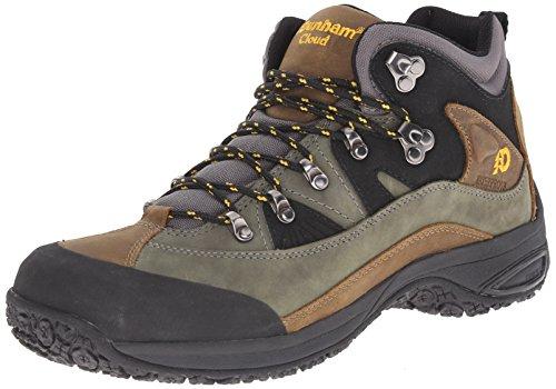 Dunham by New Balance Men's  Cloud Mid Cut Waterproof Boot,Grey,9.5 EEEE