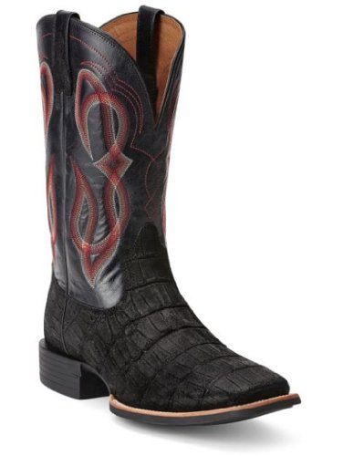 "Ariat Men's 13"" Quantum Brander Boots,Black,10 EE"