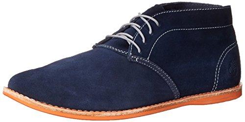 Timberland Men's EK Revenia Chukka Espadrille Shoe, Navy Suede, 10.5 W US
