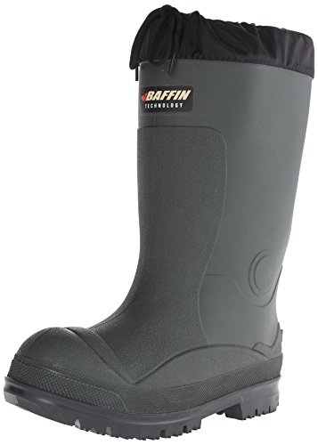 Baffin Men's Titan Canadian Made Insulated Rubber Boot,Forest/Black,12 M