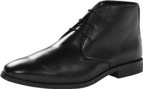 Florsheim Men's Jet Chukka Boot,Black,11 D US