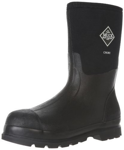 The Original MuckBoots Adult Chore Mid Boot,Black,Men's 13 M/Women's 14 M