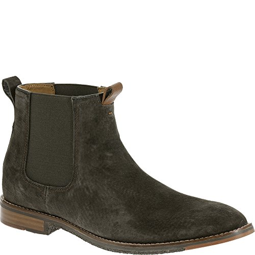 Hush Puppies Men's Thor Hamlin Chelsea Boot, Charcoal, 10 M US
