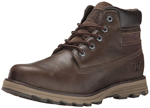 Caterpillar Men's Founder Chukka Boot, Muddy, 10.5 M US