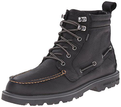 Sperry Top-Sider Men's Authentic Original Lug Boot WP Winter Boot, Black, 11 M US