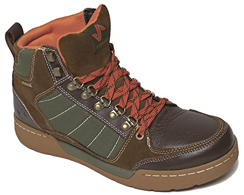 Forsake Men's Hiker Brown/Green Leather Sneakerboot 11.5