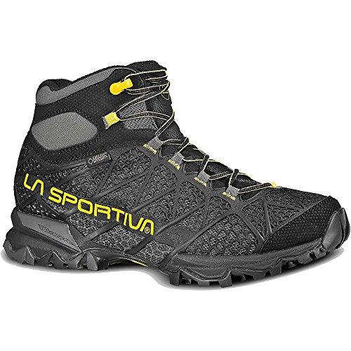 La Sportiva Core High GTX Boot – Men's Black / Yellow 47.5