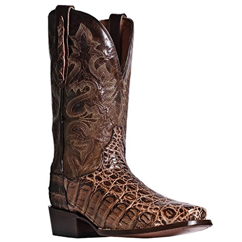 Dan Post Mens Amber Antioch Caiman 12in Cowboy Boots Leather 9 D