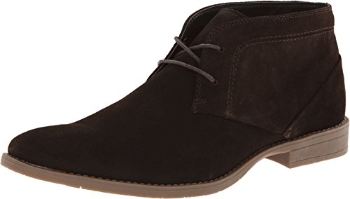 Calvin Klein Men's Wilson 2 Dark Brown Suede Boot 11.5 M