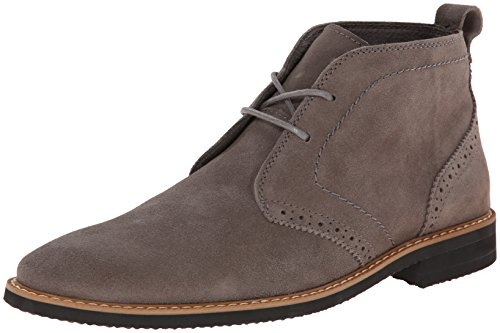 Stacy Adams Men's Slater Chukka Boot,Gray Suede,10.5 M US
